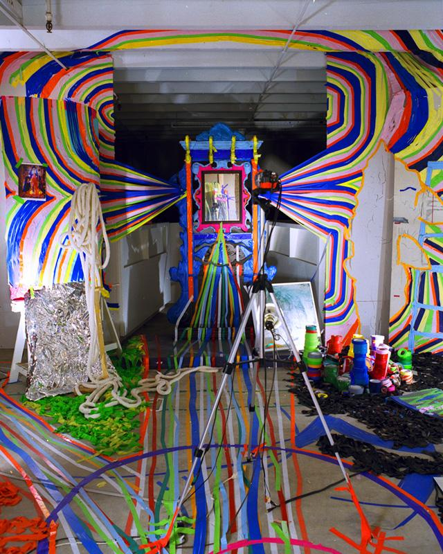 Verge artist Aleksander Bohnak's installation at this Friday's Reason to Party event invites guests to become part of the art. (Pictured is a previous installation of his.)