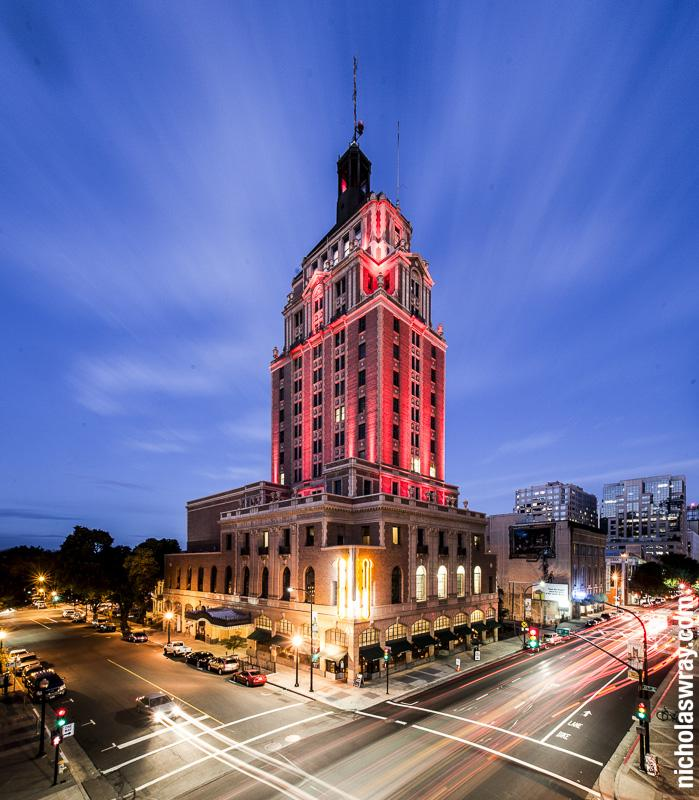 The event will be held at the historic Elks Tower. (Photo by Nicholas Wray.)
